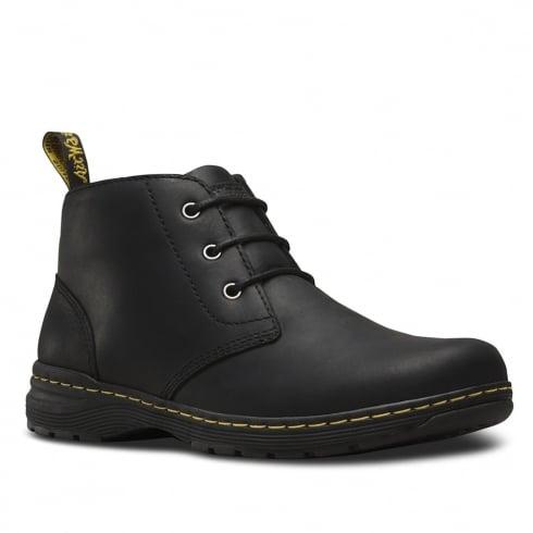 Dr. Martens Dr.Martens Mens Emil Black Chukka Lace Up Boots