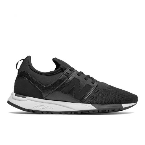 New Balance Womens 247 Classic Black Sport Style Sneakers