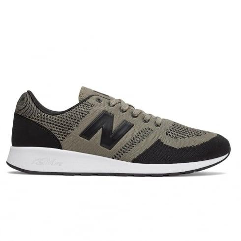 New Balance Men's Sport 420 Taupe/Black Mesh Sneakers