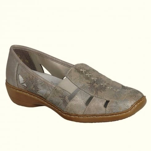 Wedge Rieker Taupe
