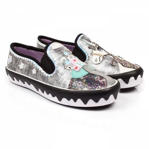 Irregular Choice Misty's Castle Reins Slip-on Pumps