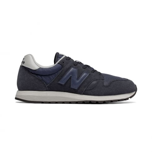 New Balance Mens New Balance Light Navy Suede U520CK Sneakers