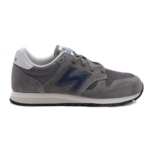 New Balance Mens New Balance Dark Grey Suede U520CL Sneakers