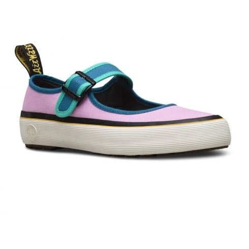 Dr. Martens Dr Martens Womens Florentia Multi Canvas Shoes