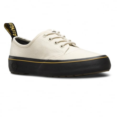 Dr. Martens Dr Martens Jacy Bone Canvas Trainer Shoes