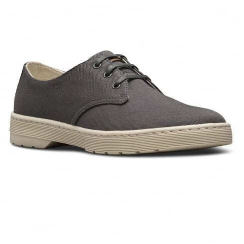 Dr. Martens Dr Martens Delrey Gunmetal Overdyed Twill Shoes