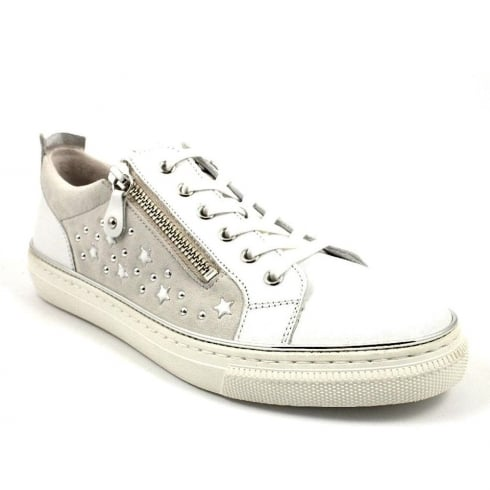 Gabor Doria Trainer Shoe - White