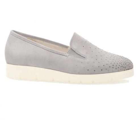 Gabor Angela Ladies Casual Shoes - Light Grey
