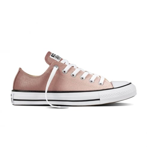 Converse Women's Chuck Taylor All Star Trainers - Rose Ombre Glitter