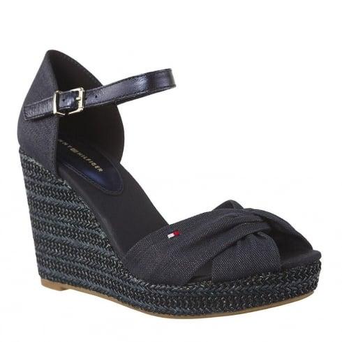 Tommy Hilfiger Elena Midnight Espadrilles Wedge Sandals