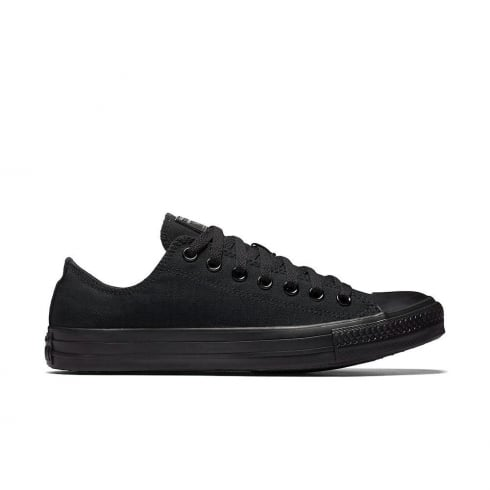 Converse Unisex Chuck Taylor All Star Black Mono Trainers