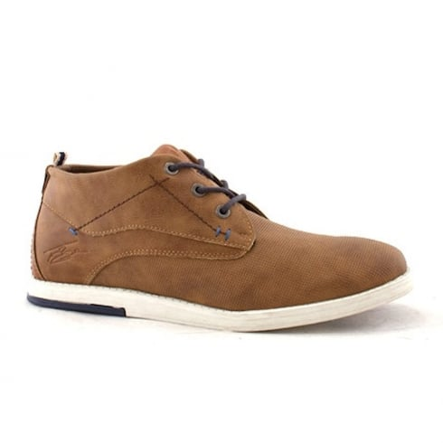 Lloyde & Pryce - Tommy Bowe Lloyd & Pryce Mens Downing Camel Lace Up Suede Boots