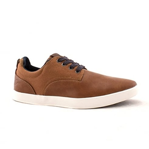 Lloyde & Pryce - Tommy Bowe Lloyd & Pryce Mens Yukes Camel Casual Lace Up Shoes