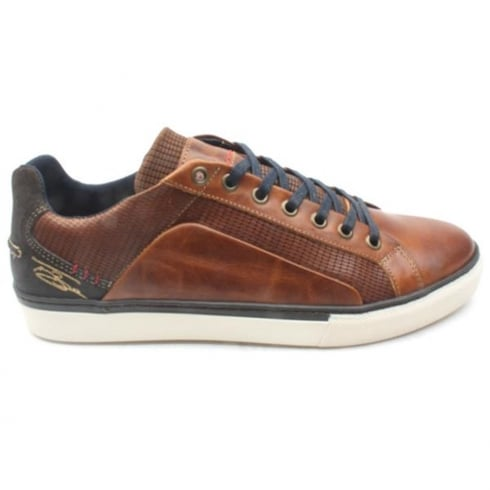 Lloyde & Pryce - Tommy Bowe Lloyd & Pryce Mens Tredwell Camel Casual Lace Up Shoes