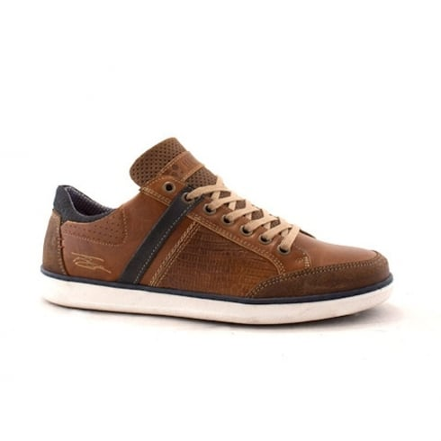 Lloyde & Pryce - Tommy Bowe Lloyd & Pryce Mens Gibson Camel Casual Lace Up Shoes