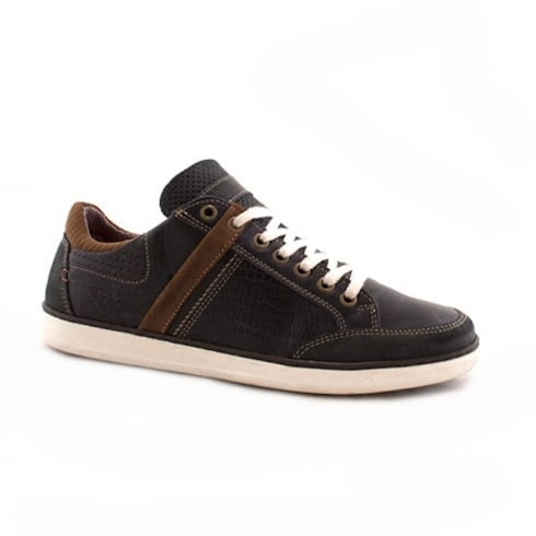 Lloyde & Pryce - Tommy Bowe Lloyd & Pryce Mens Gibson Navy Storm Casual Lace Up Shoes
