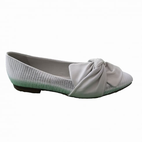 Regarde Le Ciel Julienne 28 Ladies Ice Flat Smart Pump Shoes