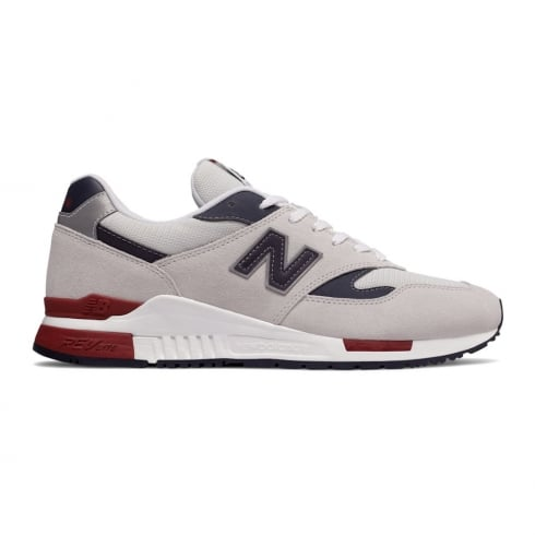 New Balance Mens Suede GC840 Off White Trainers