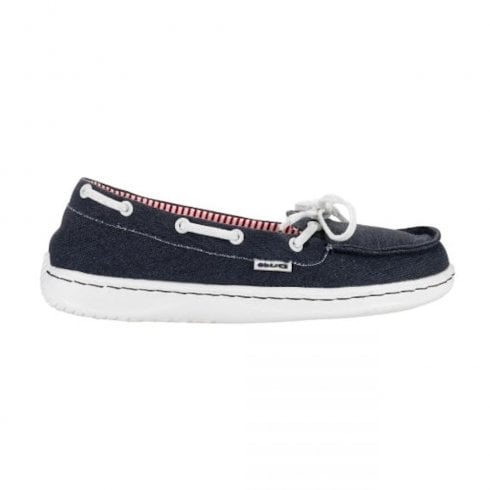Hey Dude Wome's Moka Classic Navy Deck Shoe