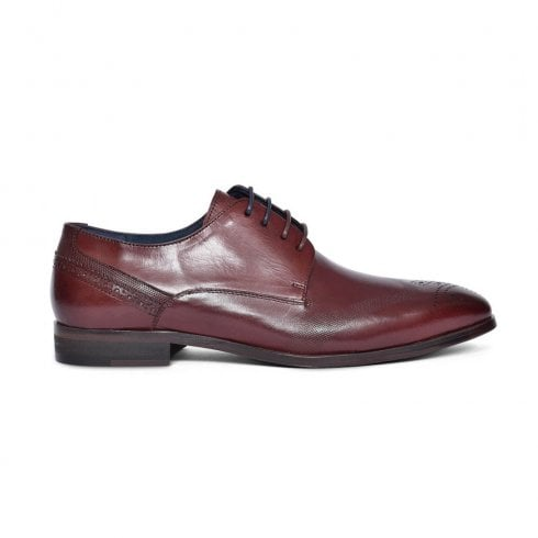 Lloyde & Pryce - Tommy Bowe Lloyd & Pryce Tommy Bowe Patersons Leather Smart Brogue - Chestnut