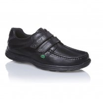 Reasan - Velcro Fasten School Shoe