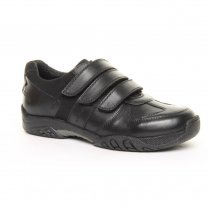 Airman School Shoe - Boys 3 Velcro Strap