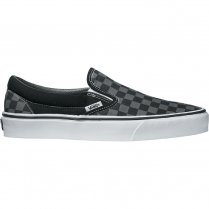 Mens Classic Slip On Trainers - Black/Pewter