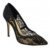 Menbur Black Lace Pointed Court - 06601