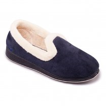 Padders Womens Repose Slippers - 406 - Navy