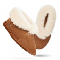 Emu Talinga Slippers - W10106 - Chestnut