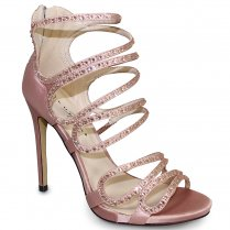 Lunar Courtney Heeled Sandals - FLR349 - Pink