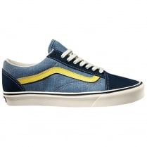 Mens Old Skool Lite Trainers - Blue/Yellow