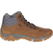 Mens Merrell Moab Rover Mid Waterproof Hiking Boots - Tan