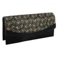 Menbur NARCEA Black/Gold Occasion Handbags