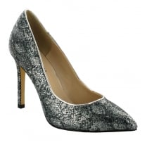 Menbur Silver Pointed Occasion Heels - 070610R09