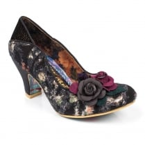 Irregular Choice Winchester Mid Heels - Black