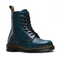 Dr.Martens Pascal Viper Womens Leather Ankle Boots -Lake Blue-21445456