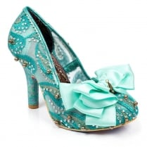 Irregular Choice Ascot Mint Heels