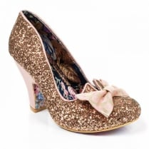 Irregular Choice Nick of Time - Gold/Pink