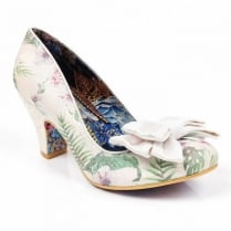Irregular Choice Ban Joe - White Floral