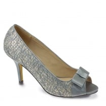 Lunar Champney Peep Toe Court - Grey - FLR421