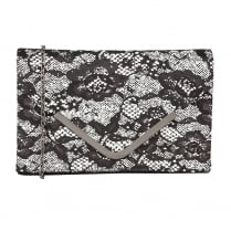 Lotus Women's Epona Clutch Bag - Black/White - 1682