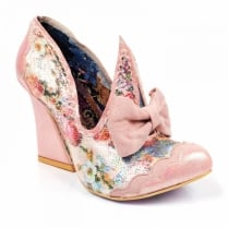 Irregular Choice Oh Mama Court Heel - Pink