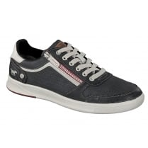 Mustang 4098-309 Mens Trainer - Charcoal