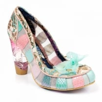 Irregular Choice Well Heeled - Pink