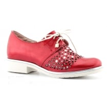 Jose Saenz 2065 Pink Lace Up Shoe