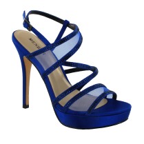 Menbur Womens Blue Croacia Heels Sandals