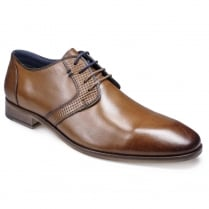Pod Mens Tampa Tan Lace Up Brogues