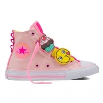 Converse Chuck Taylor All Star Pink Loopholes Sneakers