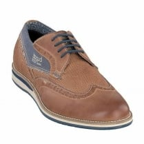 Bugatti Mens Cognac Tan Lace Up Casual Shoes - 311-25601